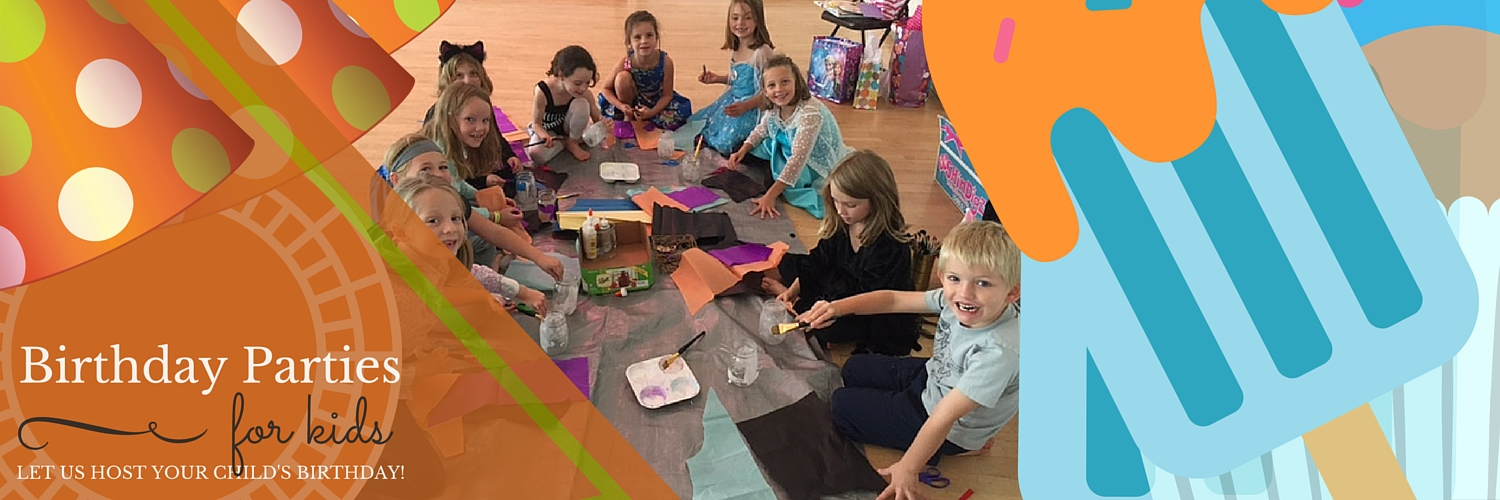 Save $10 off your Birthday Party booked in March or April
